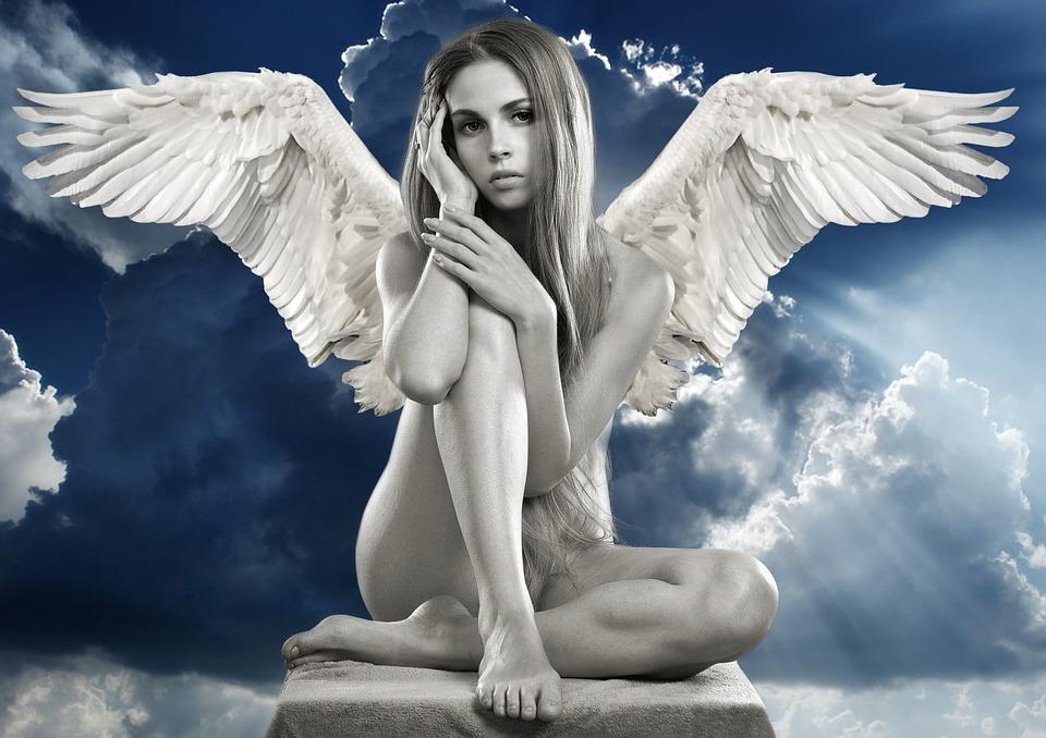 žena anděl