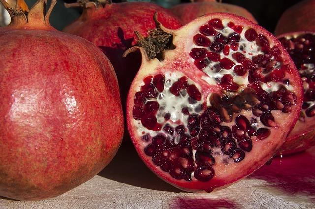 granátové jablka