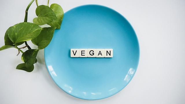talíř, veganství