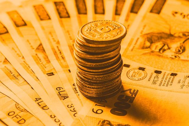 indická měna, mince, bankovky